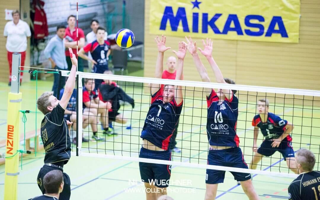 Volleyball: Deutsche Meisterschaften der U14 beim HTV