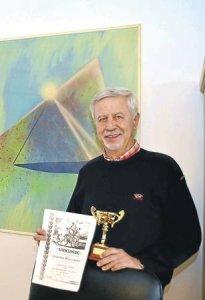 Jochen Hamers mit Ehrenmedaille des HTV ausgezeichnet