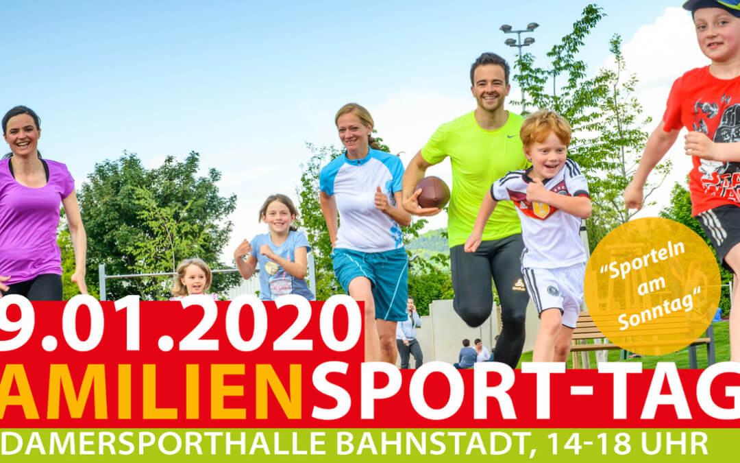 Familiensporttag, 19.01.2020