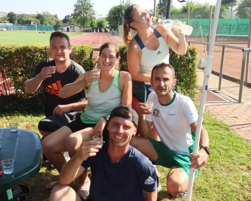 Erfolgreicher Rundenstart für das Mixed-Team