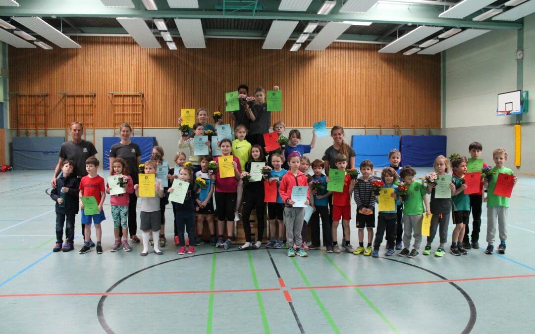 Hallensportfest Leichtathletik