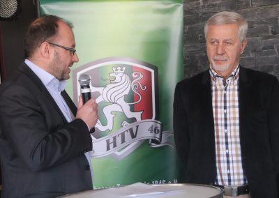 Jochen Hamers erhält die Ehrenmedaille
