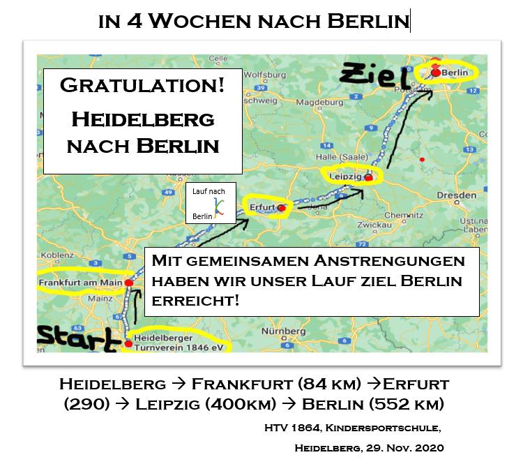 Wir sind da! Gemeinsam bis nach Berlin gelaufen