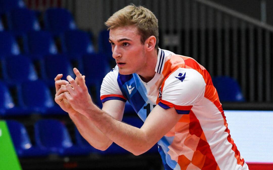 Volleyballer Linus Hüger feiert sein Debüt in der 1. Bundesliga