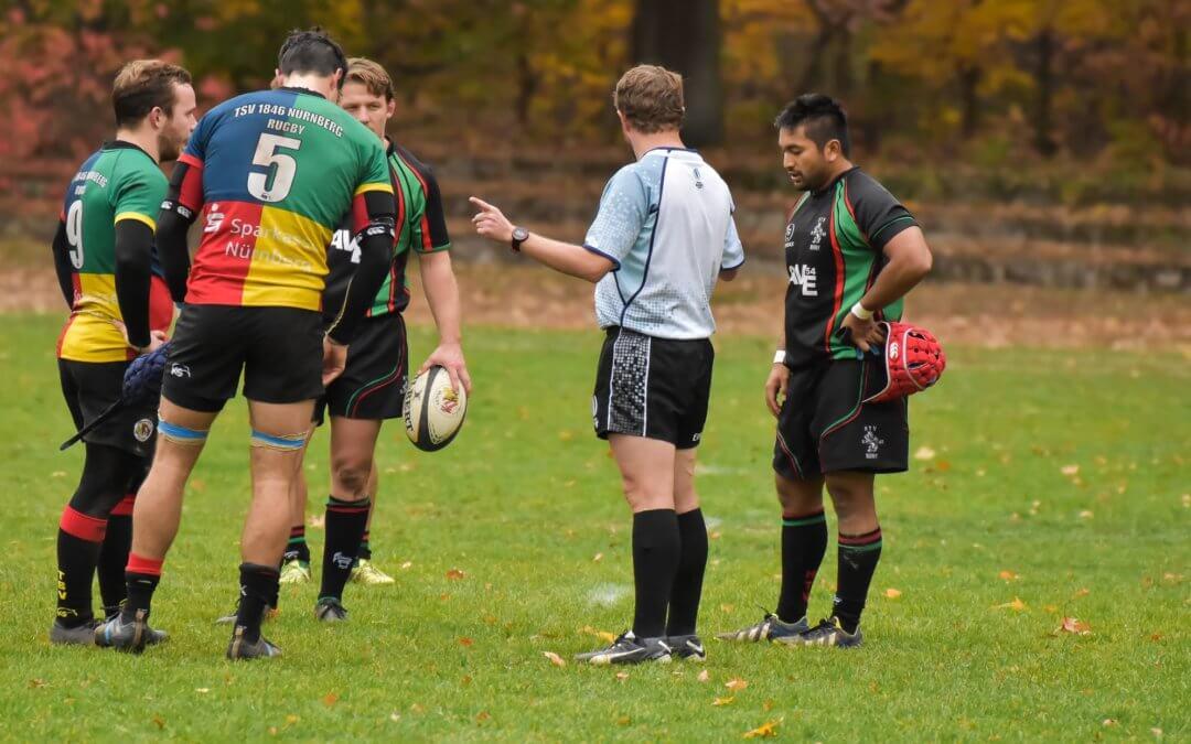 Gewalt gegen Schiedsrichter – beim Rugby läuft es anders