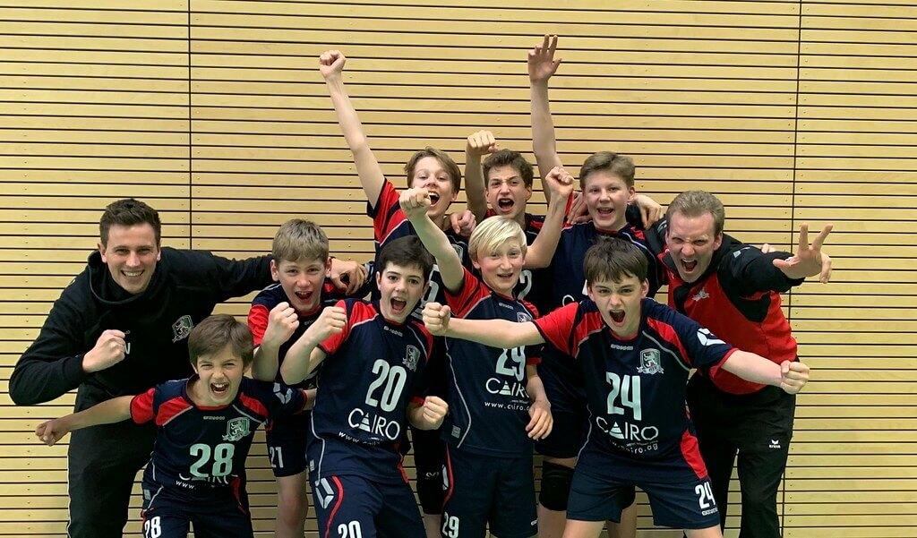 U14-Volleyballer sind Süddeutscher Vizemeister