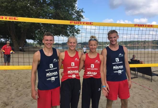 U17 Beachvolleyball-Meisterschaften: HTV-Talente vorne dabei!