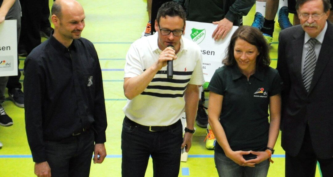 V`ball: Dt. Meisterschaften U14 beim und mit dem HTV