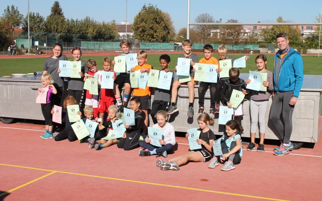 Kindersportfest Leichtathletik 10.10.2020 abgesagt